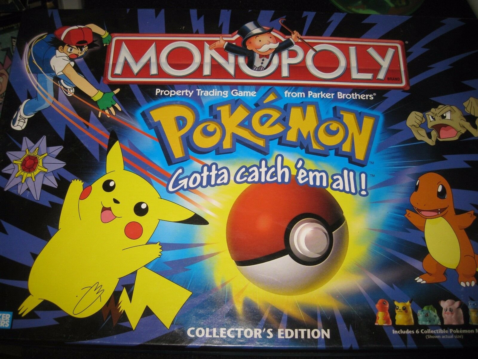 Pokemon Monopoly Board Game- Collector's Edition-Complete RARE - Complete
