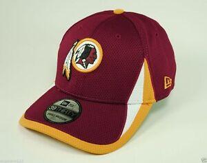18fb26e53 New Era NFL Washington Redskins Training Hat Red Burgandy Cardinal ...