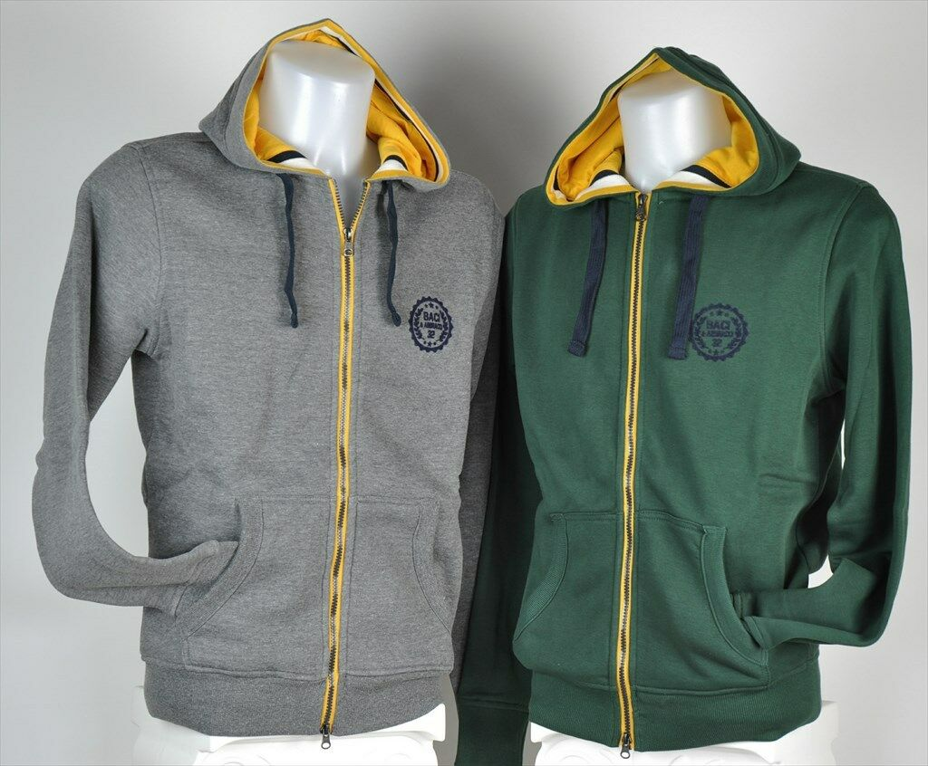 MEN'S SWEATSHIRT ZIPPERED AND HOOD SPORT KISSES &  HUGS ART. BAM2343  low 40% price