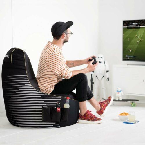 Gaming Sitzsack EPS Füllung Sitzkissen # Beanbag Kopfhörer für PS4 6336+0092