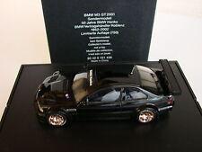 1/43  BMW M3 GTR Hanko, Limitert 750 Stck. Minichamps