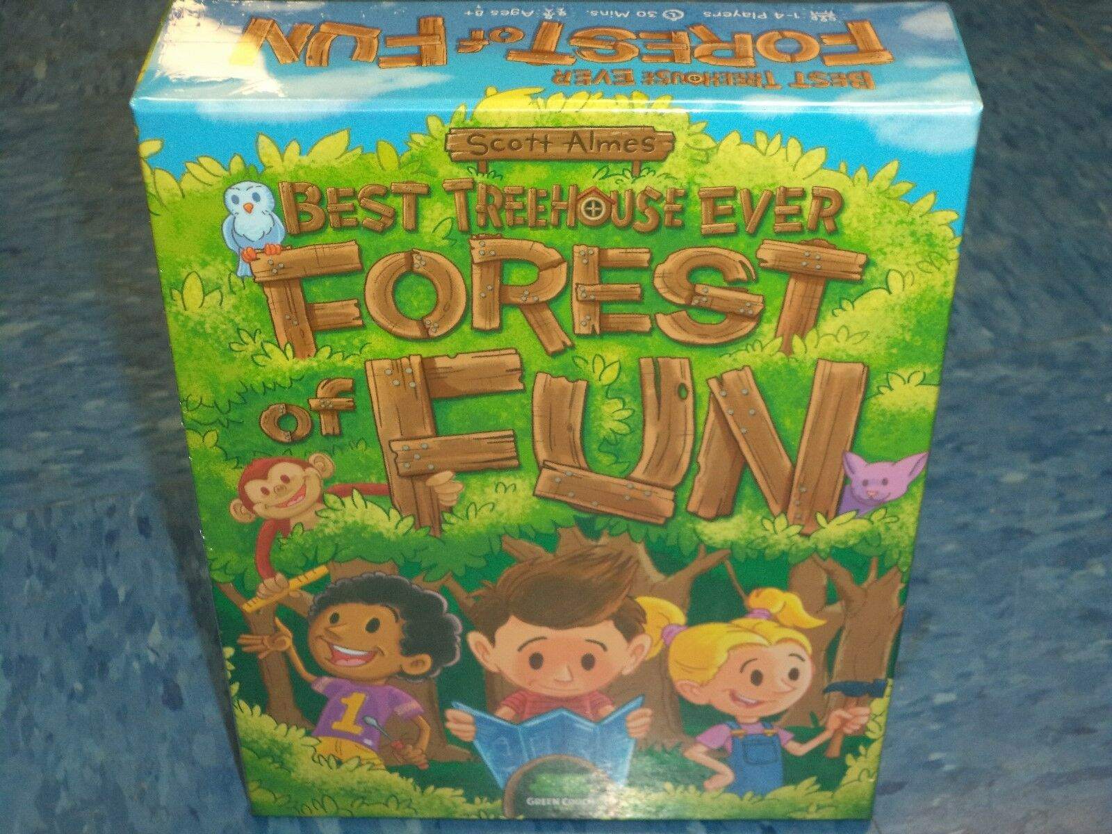 Best Treehouse Ever Ever Ever  Forest of Fun -Grün Couch Games Board Game New 22f0e7