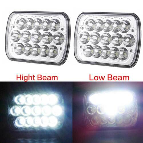 "CREE 7X6/"" LED Headlight for Ford Super Duty Truck F550 F600 F650 F700 F750 H6014"