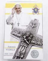 Made In Italy Authentic Pope Francis Vedele Pectoral 4 Cross