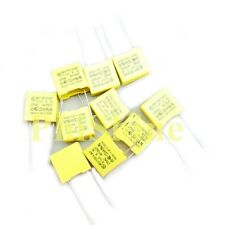 10pcs Polyproplene Safety Capacitor X2 275V 0.1uF 100nF 104K Pitch 10mm