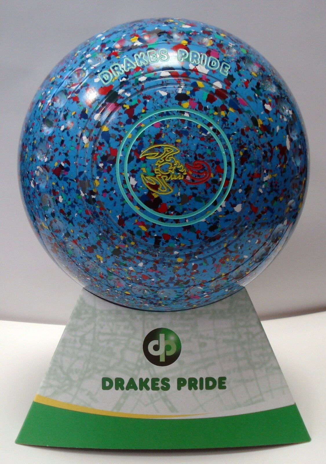 NEW  Lawn Bowls Drakes Pride Professional  Coloured  Size 0 H