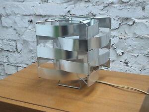 MAX-SAUZE-TABLE-DESK-LAMP-LAMPE-LEUCHT-ALUMINIUM-SPACE-AGE-France-1970s