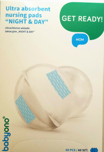 BABYONO COTTON DISPOSABLE BREAST PADS//NIPPLE PROTECTORS VARIOUS QUANTITIES