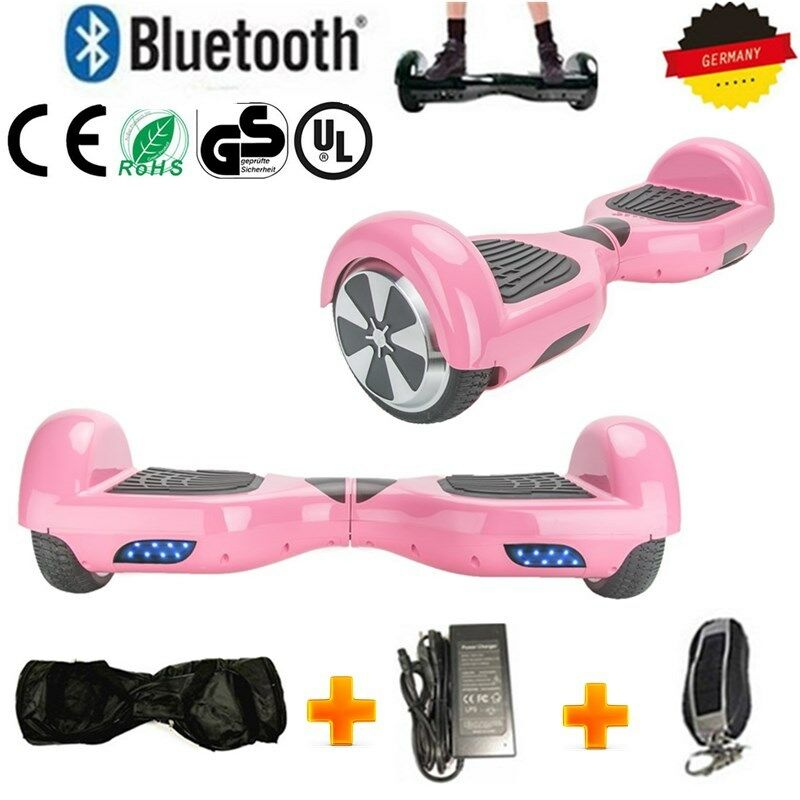 Original 6.5' Hoverboard Electric-Scooter Board 2 Wheel blueetooth +Bag +Remote