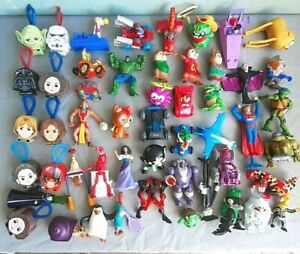 McDonald-039-s-Burger-King-Happy-meal-Toys-LOT-OF-50-C53