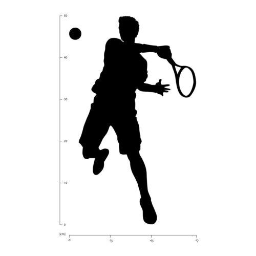 Tennis Player Tennis Wall Sticker WS-16219