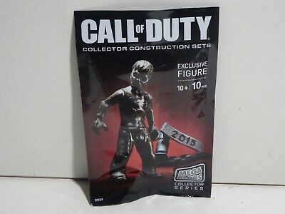 SDCC 2015 EXCLUSIVE MEGA BLOKS CALL OF DUTY COLLECTORS SET ZOMBIE MINI FIGURE