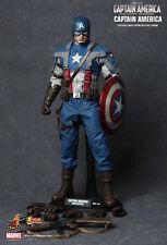 NEW Hot Toys 1/6 Scale Figure Captain America The First Avenger MMS156 UK SELLER
