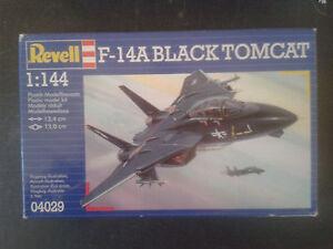 LOT-2X-Maquette-F-14a-BLACK-TOMCAT-F-15A-EAGLE-REVELL-1-72-ref-04029-amp-04010