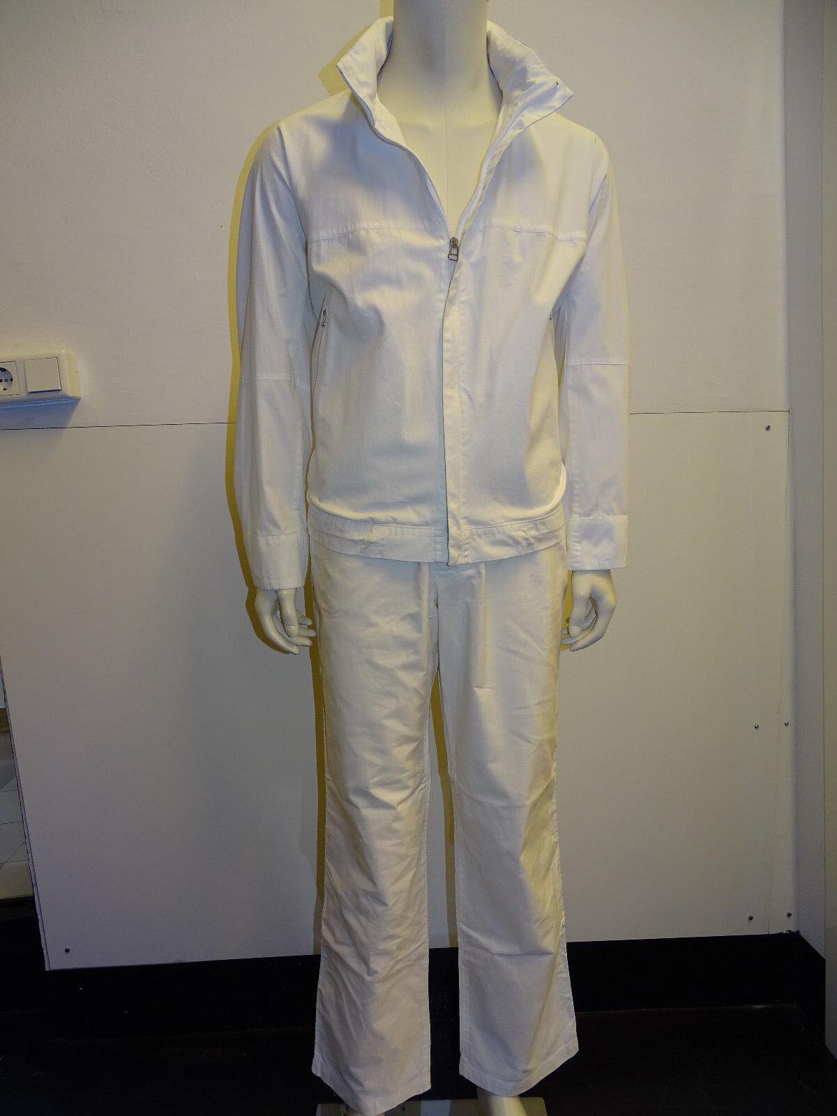 BOSS BOSS BOSS arancia per il tempo libero combinazione di Giacca e Pantaloni-Bianco-Tg. 50-REG. 320 ccf4a8