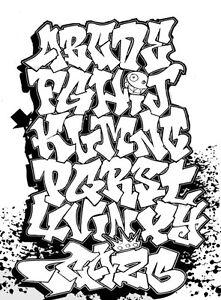 Custom GRAFFITI Vinyl Decal Lettering Auto Or Wall Art Sticker - Custom vinyl decal text