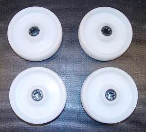 4 Stück Polypropylenra<wbr/>d / Rolle 160mm Rollenlager 200kg