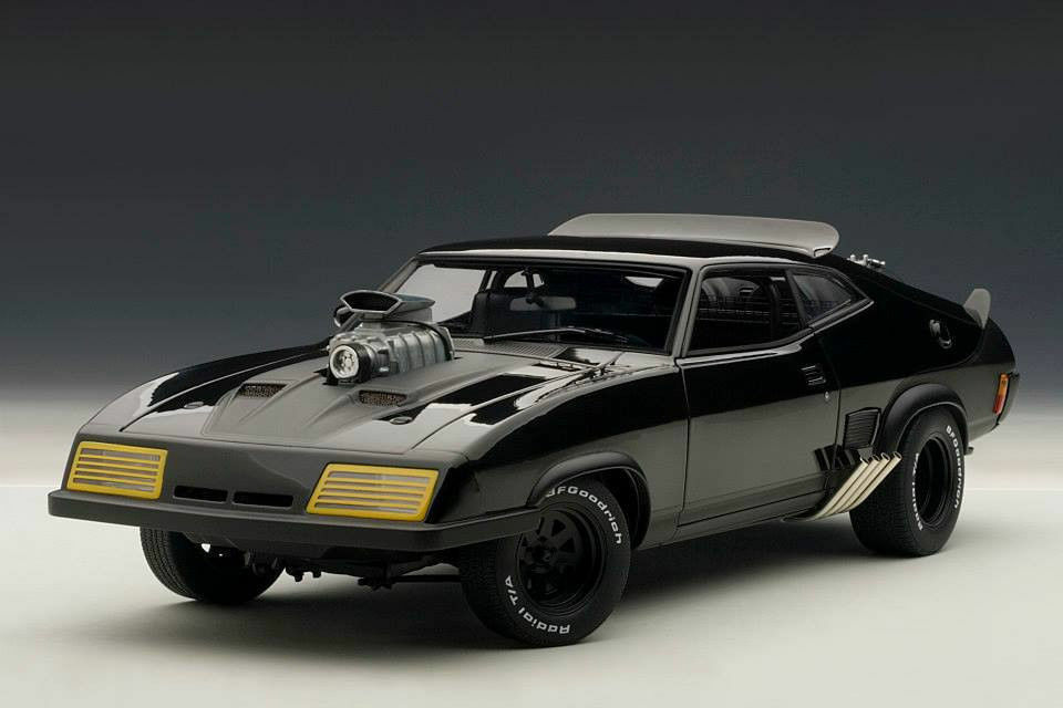 1 18 Autoart Mad Max the Road Warrior Interceptor Ford Falcon the Enforcer 2