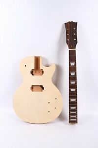 Electric Guitar neck and Body Mahogany Diy Guitar Project ...