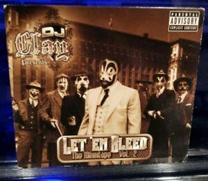 DJ Clay - Ley 'Em Bleed vol. 2 CD insane clown posse twiztid esham king gordy