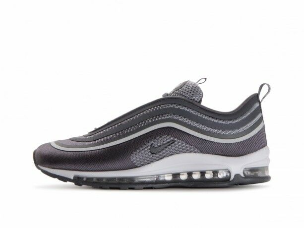 New Nike Men's Air Max 97 Ultra '17 Shoes (918356 004) Pure PlatinumDark Grey