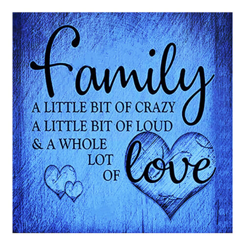 Full Drill DIY 5D Diamond Painting Family Love Embroidery Cross Stitch Craft Art