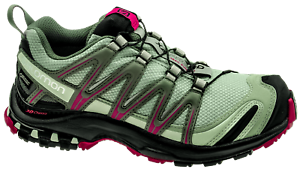 Salomon XA Pro 3D GTX W Damen Trail Running Laufschuh shadow black sangria