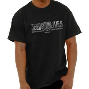 Jesus-Lives-Christ-Religious-Bible-God-Pop-Culture-Christian-T-Shirt-Tee