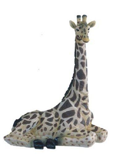 12.25 Inch Giraffe Nature Wild Animal Wilderness Statue Collectible Figure