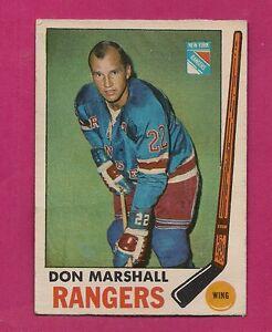 1969-70-OPC-39-RANGERS-DON-MARSHALL-FAIR-CARD-INV-A1589