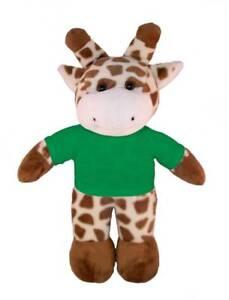 Personalized 12 Giraffe Plush Toys Stuffed Animals W Imprinted