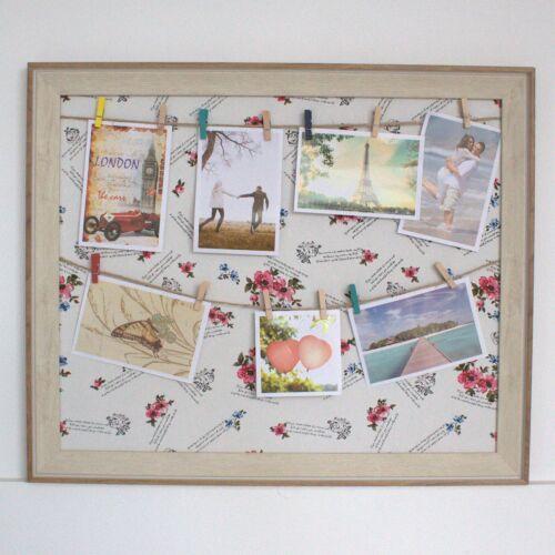 50x60cm 7 photo multiple Hanging Grand À faire soi-même Peg Cadre Photo