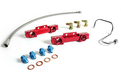 Suburu Impreza WRX STI GC8 V3 V4 Fuel Rail & Oil Line Kit