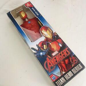 Marvel-Avengers-Issue-Titan-Hero-serie-034-Iron-Man-034-12-034-Action-Figure-Hasbro