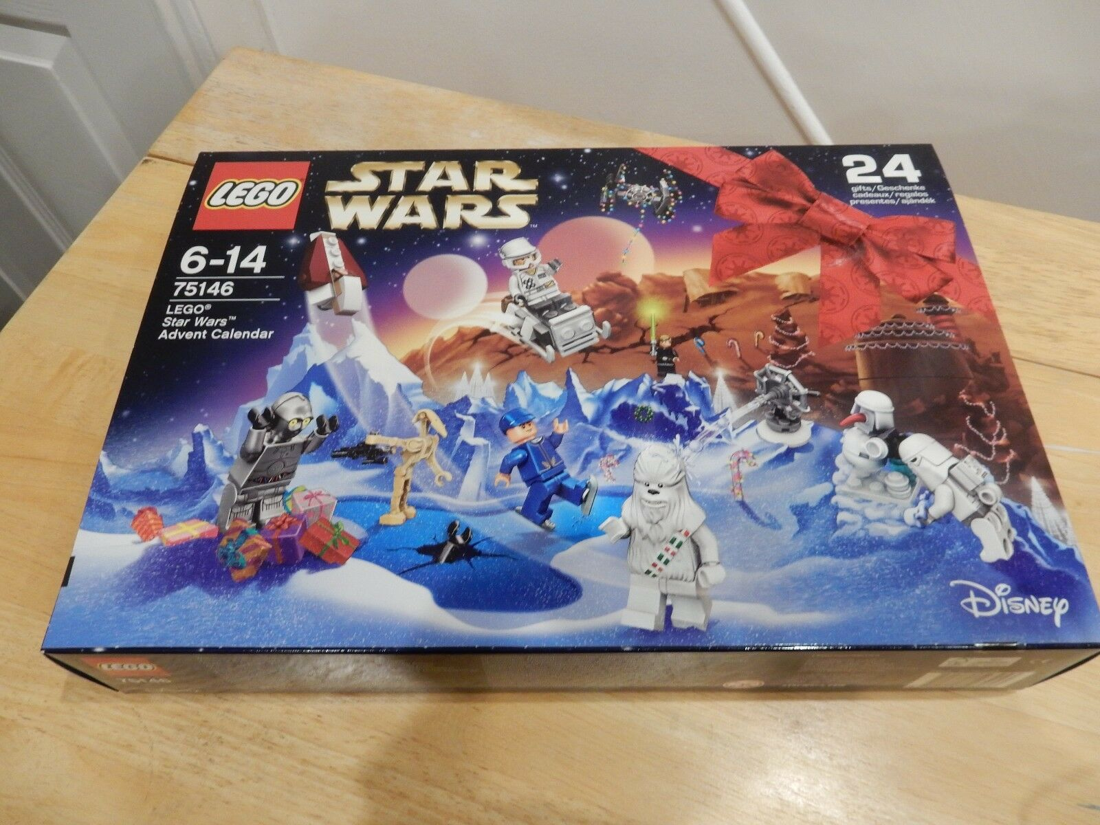 LEGO 75146 STAR WARS ADVENT CALENDAR NEW SEALED 2016 COMPLETE