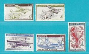 Grossbritannien-aus-1954-postfrisch-Lokalmarken-Piloten-Flugzeuge