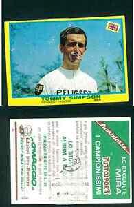 Tommy-Simpson-Inghilterra-RARA-ITALIANO-EDIZIONE-1968-Ciclismo-EDIZIONI-MIRA-n-359