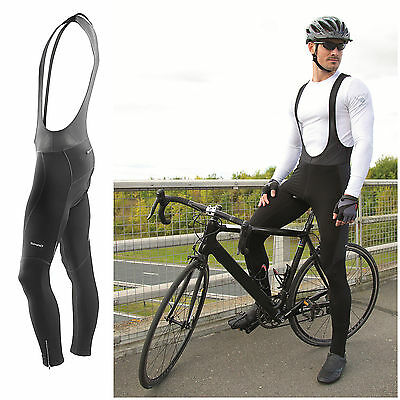 Mens Cycling Bib Tights Thermal Long Leggings Mtb Road Winter Bike Trouser Gut FüR Antipyretika Und Hals-Schnuller