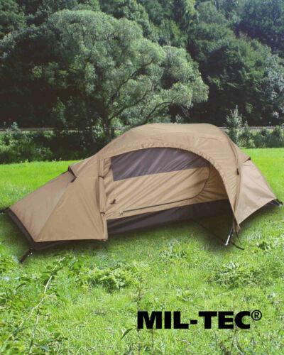 Mil-Tec EINMANNZELT RECOM COYOTE Zelt Outdoor Camping