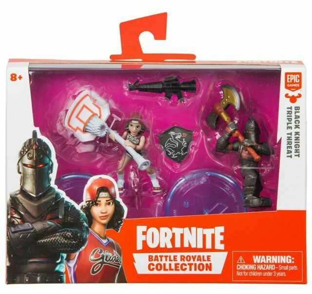 Fortnite Battle Royale Collection Black Knight Triple Threat 2pack Action Figure For Sale Online Ebay