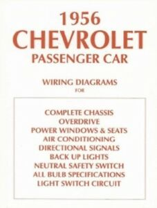 details about chevrolet 1956 chevy car wiring diagram 56 wiring diagram for overdrive cropped