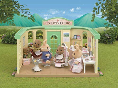 Sylvanian Families Epoch Calico Critters shop dentist set H-14