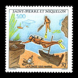 SPM-1993-Deep-Sea-Diving-Military-Sc-587-MNH