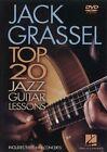 Jack Grassell Top 20 Jazz Guitar Lessons 0884088157197 DVD Region 1