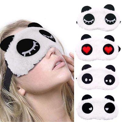 Unicorn Soft Sleep Eye Mask Travel Blindfold Shade Blind Sleeping Rest Unisex