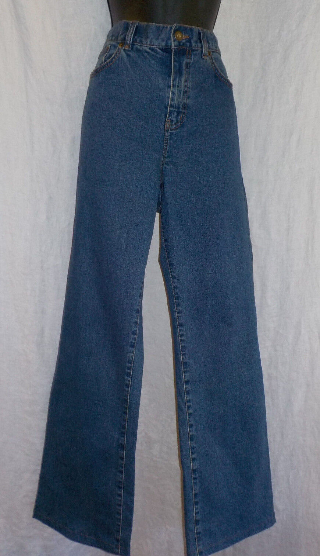 Ralph Lauren Ladies Jeans Size 10 NWT Cotton Blend Classic Boot Cut Med Wash