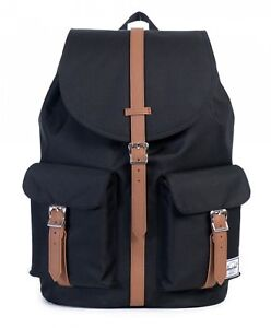 Herschel-Backpack-Dawson-Black-Tan