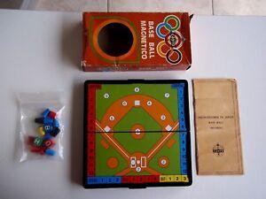 ANTIGUO JUEGO MAGNETICO BASE BALL/ CAYRO AÑOS 80
