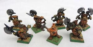 Warhammer-Dwarf-Slayers-army-lot-painted-AOS-Dispossessed-kings-war-metal