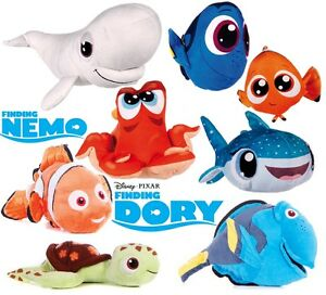 new official 12 finding nemo finding dory plush soft toys hank